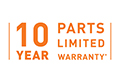 Home Comfort Connect - 10 Year Parts Limited Warranty