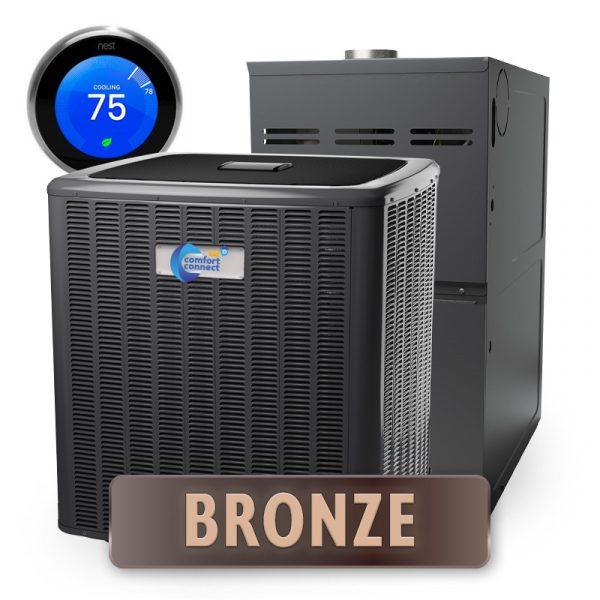 Home Comfort Connect - Bronze Package - Split System - 5-Ton - 14 SEER - Efficient
