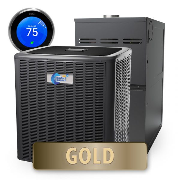 Home Comfort Connect - Gold Package - Split System - 5-Ton - 20 SEER - High Efficiency
