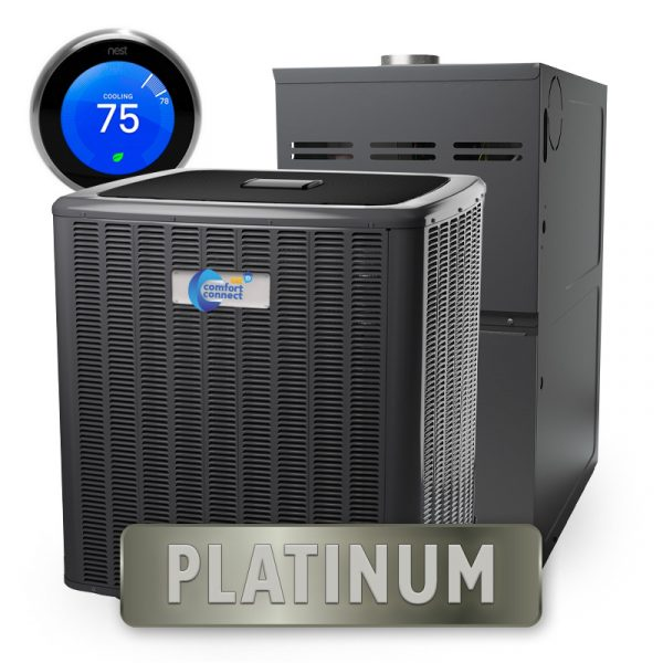 Home Comfort Connect - Platinum Package - Split System - 5-Ton - 20 SEER - High Efficiency